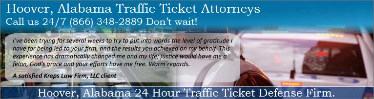 Hoover, Alabama Traffic Attorney | Hoover Speeding Lawyer